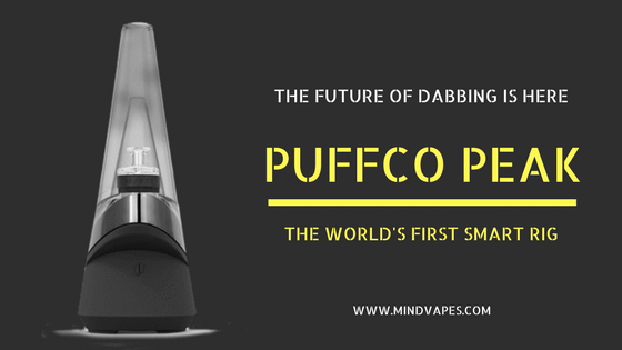 Puffco Peak - The World's First Smart Rig