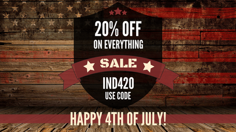 INDEPENDENCE DAY SALE 2018 20% OFF WITH CODE IND420