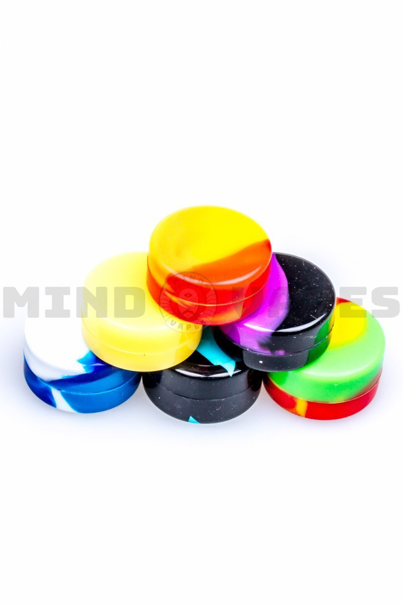 Pack of 6 Mini Silicone Containers