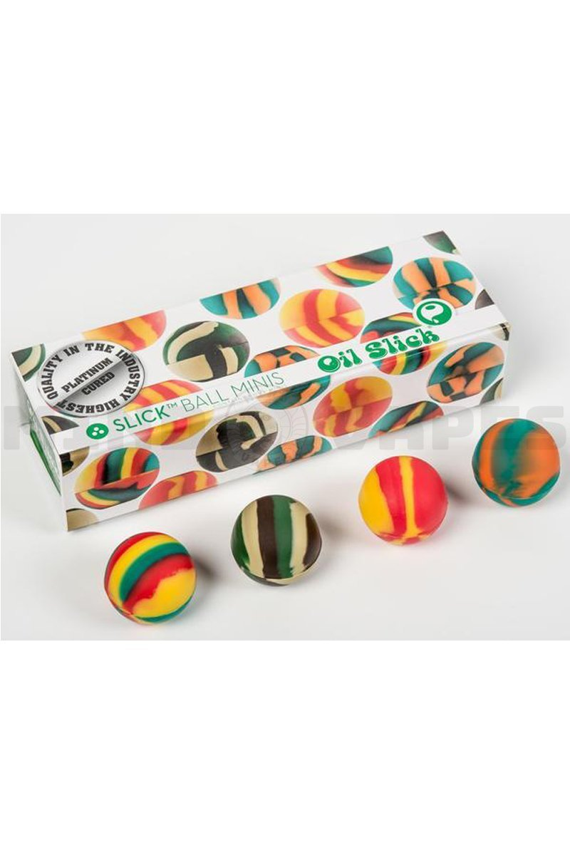 Oil Slick - Ball Mini - 4 Pack