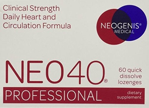 NEO40 Professional 60 Lozenges - Neogenis Labs / HumanN