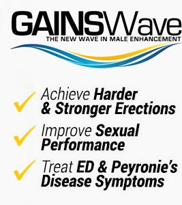 GAINSWave™ Treatments Starting at $500 (Please call for details)
