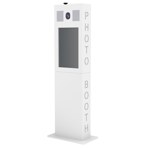 Versa Tower Booth WHITE - SHELL ONLY
