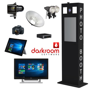 Versa Tower Booth BLACK - SOCIAL MEDIA PACKAGE