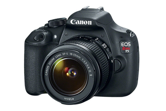 Canon T5 with EF-S 18-55mm IS II Lens