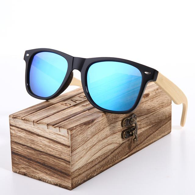 BARCUR Wood Sunglasses