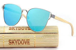 SKYDOVE Wooden Sunglasses