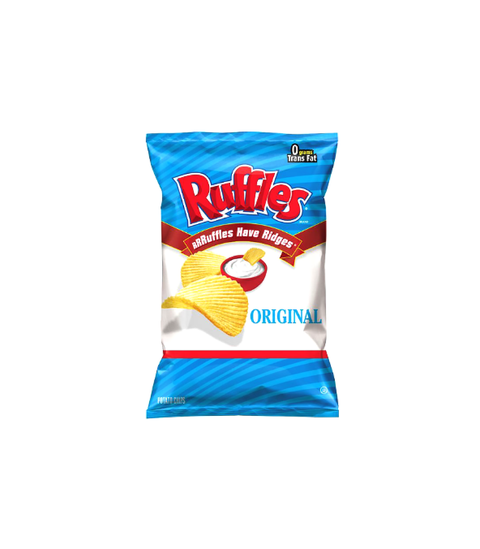 Ruffles - Original - Pink Dot