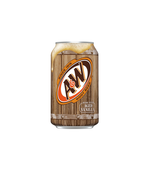 A&W Root Beer - Pink Dot