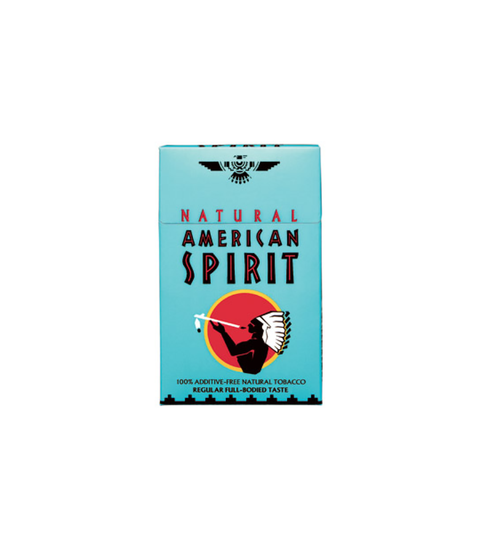 American Spirit Full Flavor (Blue pack) - Pink Dot