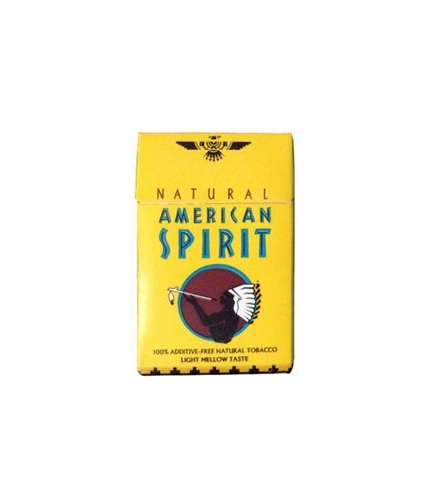 American Spirit Light (Yellow Box) - Pink Dot