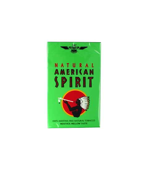 American Spirit Menthol Light (Lime Box)