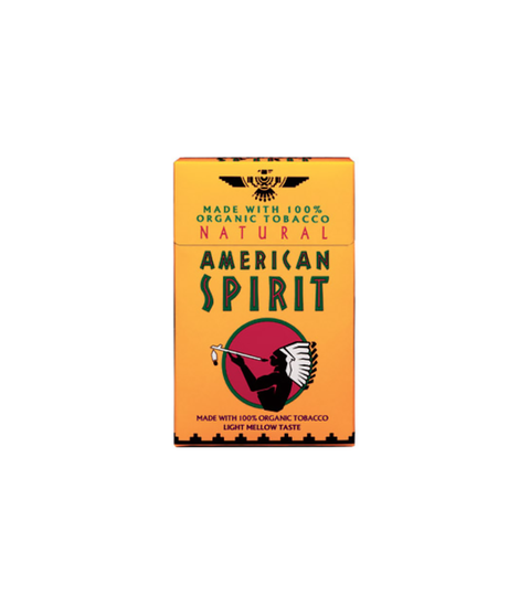 American Spirit Organic Light (Orange & Tan Pack) - Pink Dot