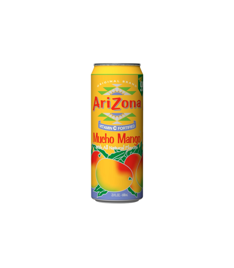 Arizona Iced Tea - Mucho Mango - Pink Dot