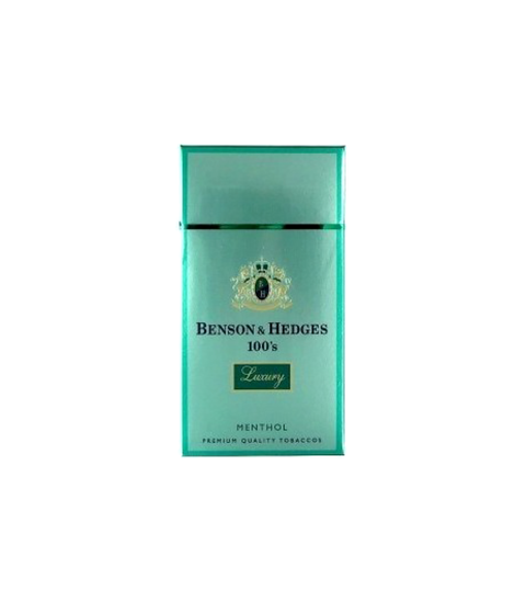 Benson & Hedges Luxury Menthol Cigarettes