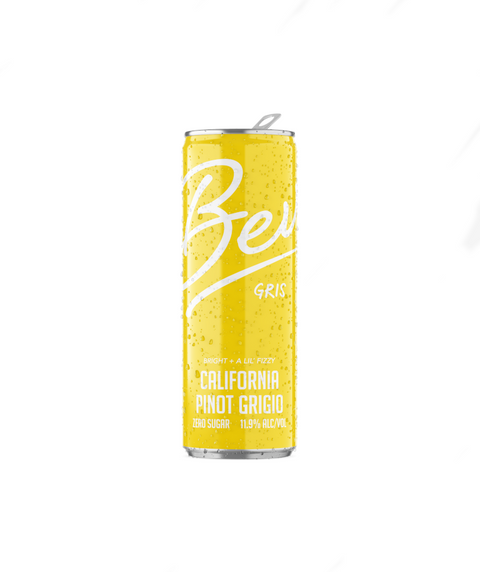 Bev Canned Wine - Pinot Gris (4 pack)