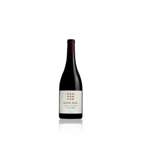 Block Nine Pinot Noir 2016 - Pink Dot