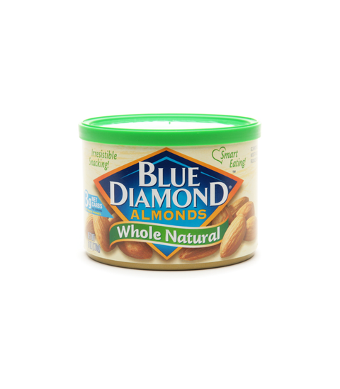 Blue Diamond Almonds - Whole Natural - Pink Dot