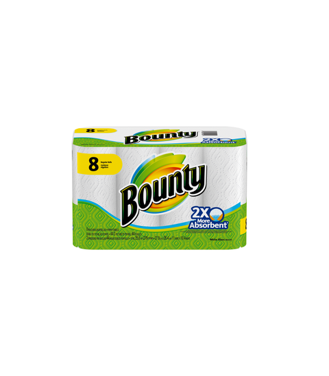 Bounty Paper Towels - Pink Dot