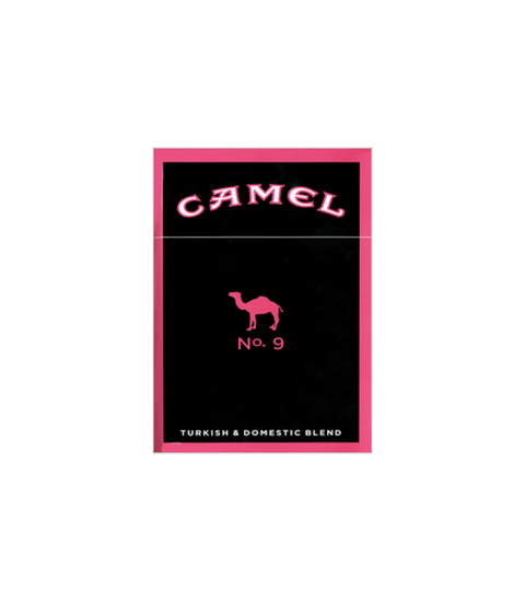 Camel No. 9 Pink Cigarette - Pink Dot