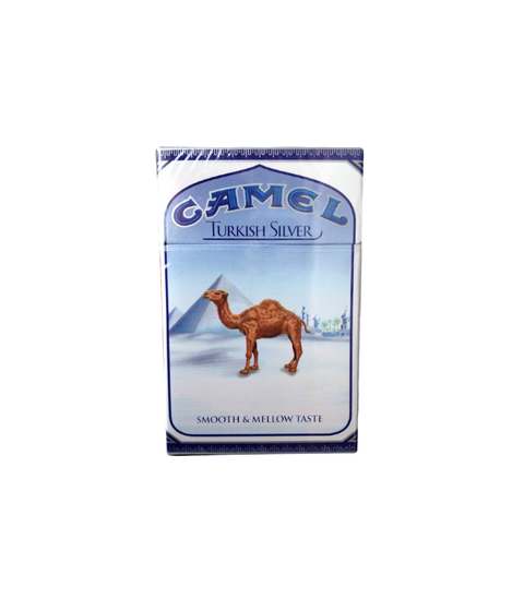 Camel Turkish Silver Cigarettes - Pink Dot