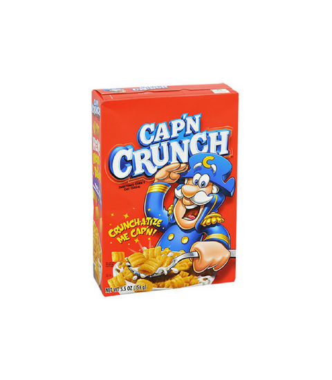 Cap'n Crunch Cereals - Pink Dot