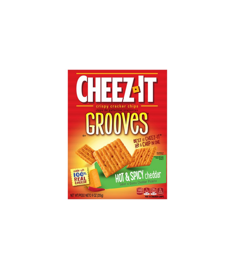 Cheez-It Grooves - Pink Dot