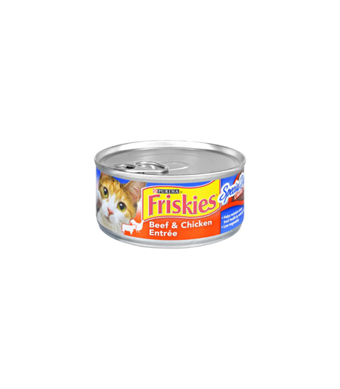 Friskies Cat Food - Pink Dot