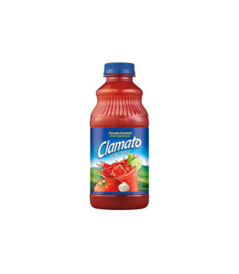 Clamato Tomato Juice - Pink Dot