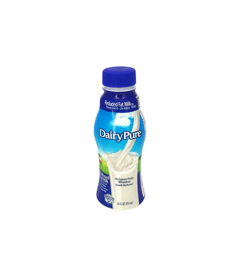 DairyPure - Reduced Fat Milk - Pink Dot