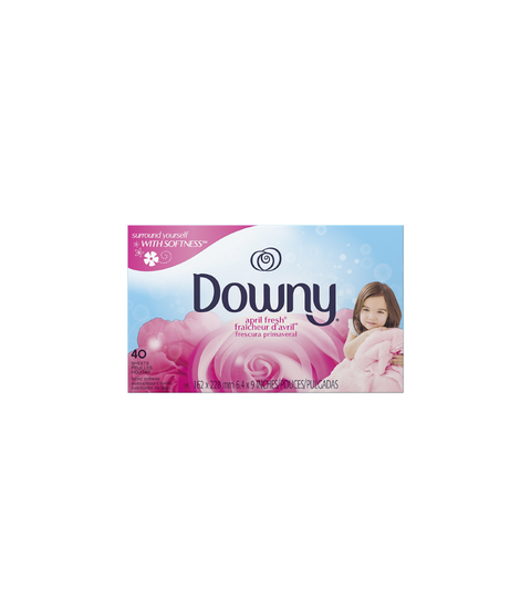 Downey Dryer Sheets - Pink Dot