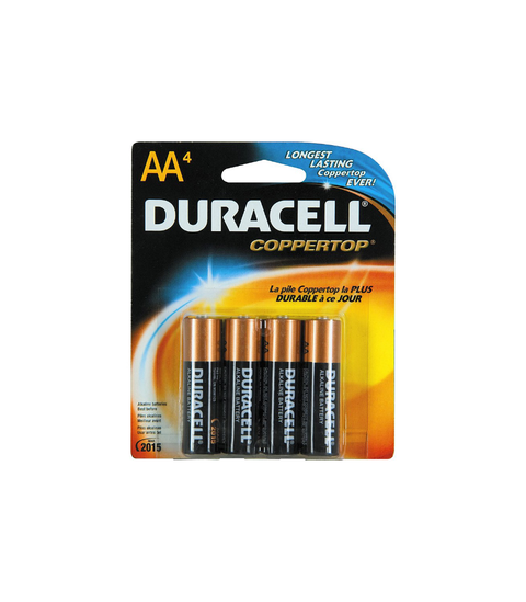 Duracell Batteries - Pink Dot