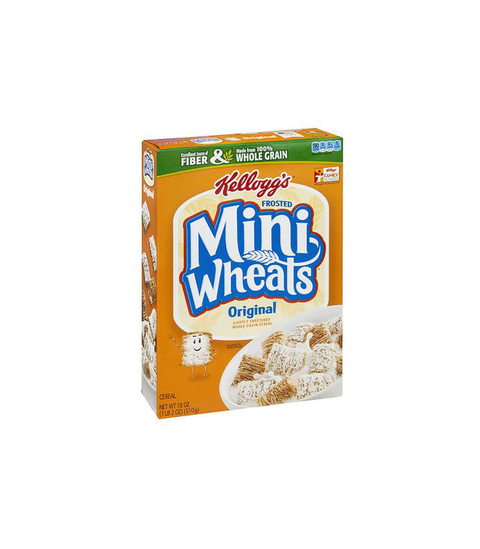 Frosted Mini-Wheats Cereal - Pink Dot