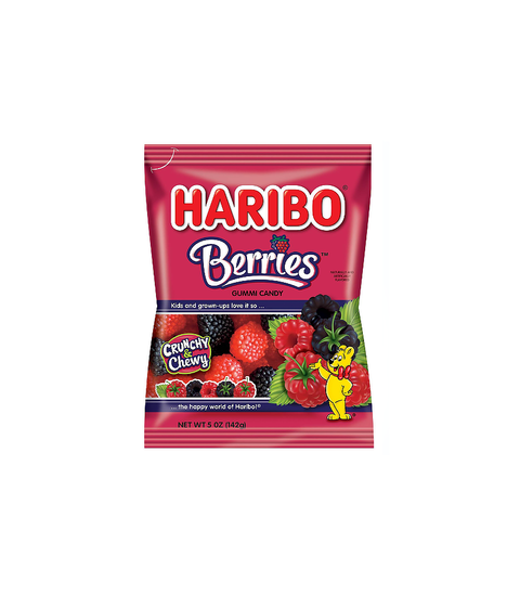 Haribo Berries - Pink Dot