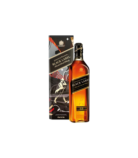 Johnnie Walker Black Label - Pink Dot