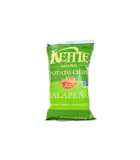 Kettle Potato Chips - Jalapeño - Pink Dot