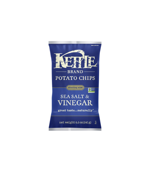 Kettle Potato Chips - Sea Salt & Vinegar - Pink Dot