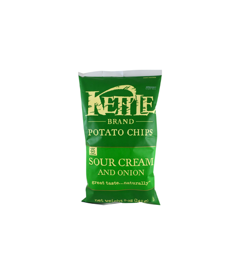 Kettle Potato Chips - Sour Cream and Onion - Pink Dot