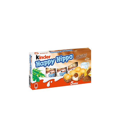 Kinder Happy Hippo Cocoa Cream Biscuits - Pink Dot