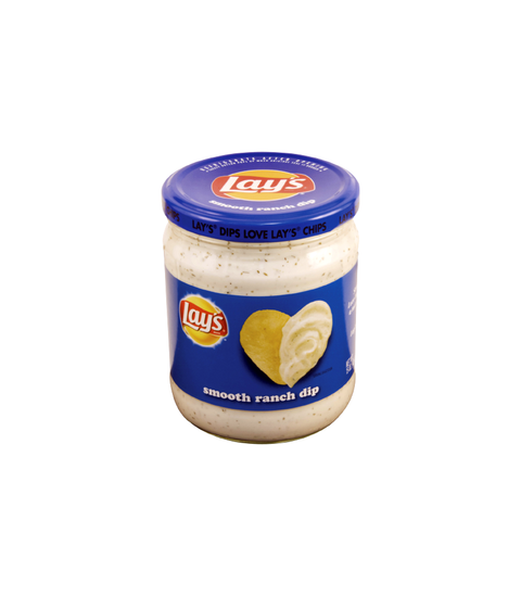 Lay's - Smooth Ranch Dip (15oz) - Pink Dot