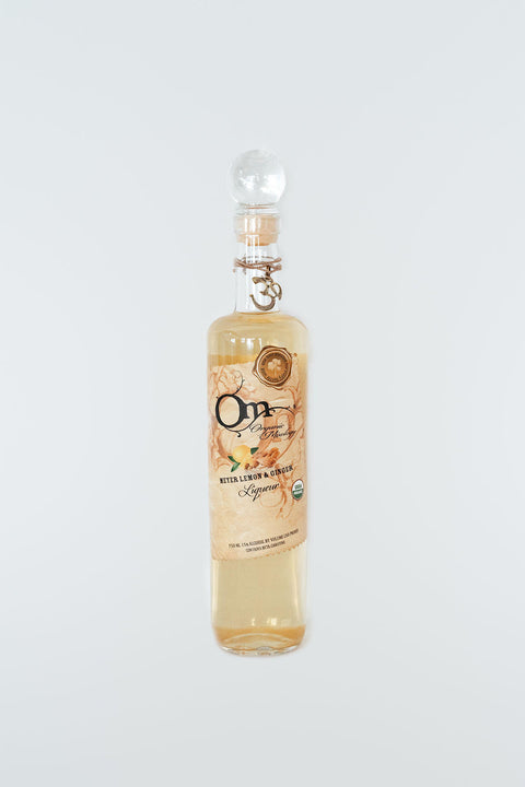 Om Spirits - Meyer Lemon & Ginger Liqueur