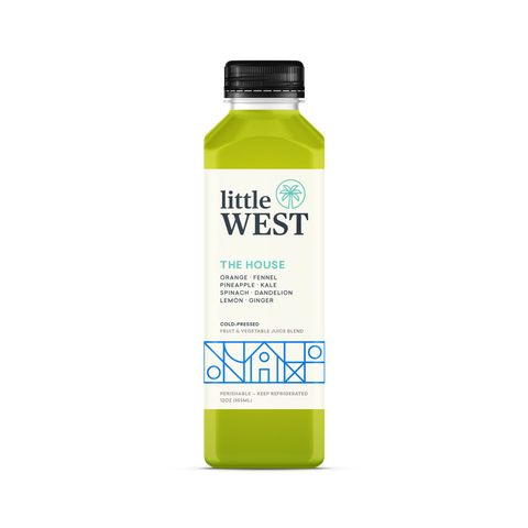 Little West Pressed Juice - The House - Pink Dot