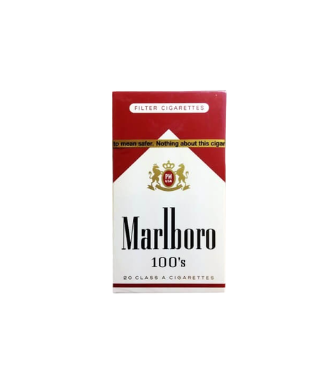 Marlboro Red 100s - Pink Dot