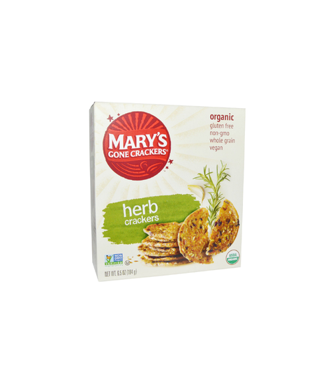 Mary's Gone Organic Crackers - Pink Dot