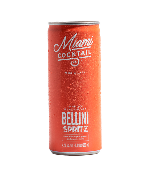 Miami Cocktail - Organic Bellini Spritz
