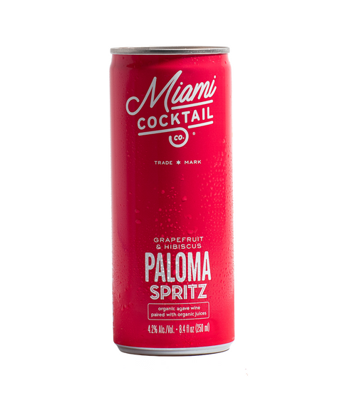 Miami Cocktail - Organic Paloma Spritz