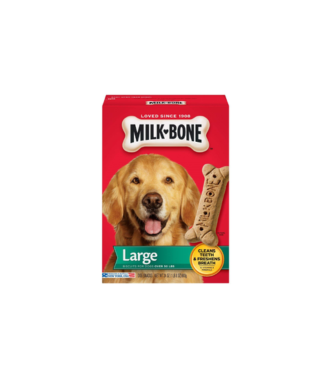 Milk-Bone Dog Treats - Large - Pink Dot