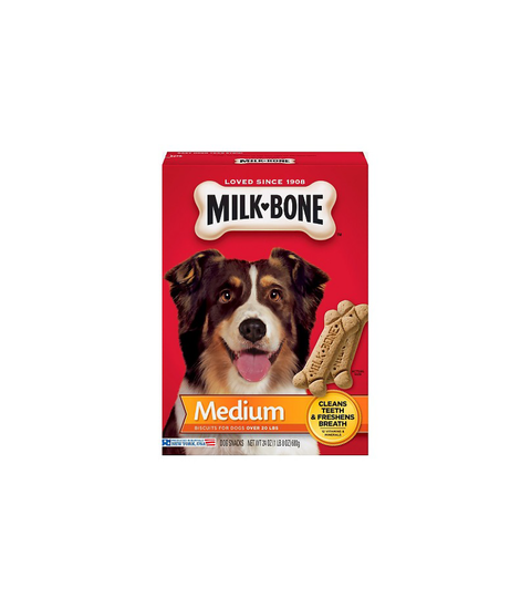 Milk-Bone Dog Treats - Medium - Pink Dot