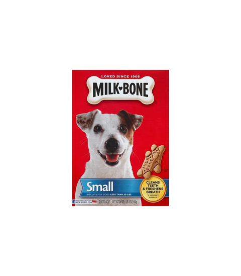 Milk-Bone Dog Treats - Small - Pink Dot