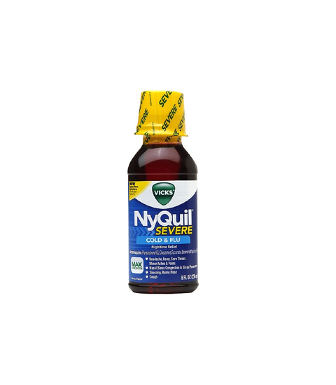 Nyquil Liquid - Severe - Pink Dot